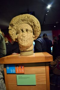 Fashionable hair style of Rome in later 1st Century AD