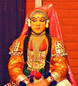 Kathakali female form