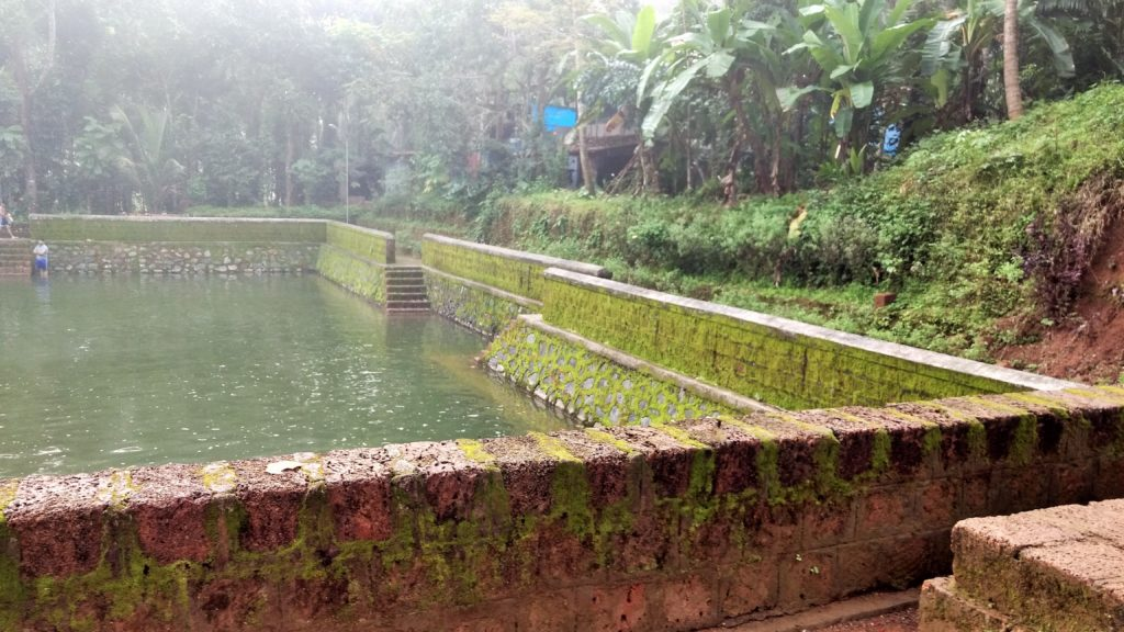 Pond near temple