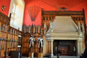 Great Hall - set up for ceremonial occasions later converted to Soldiers Barrack