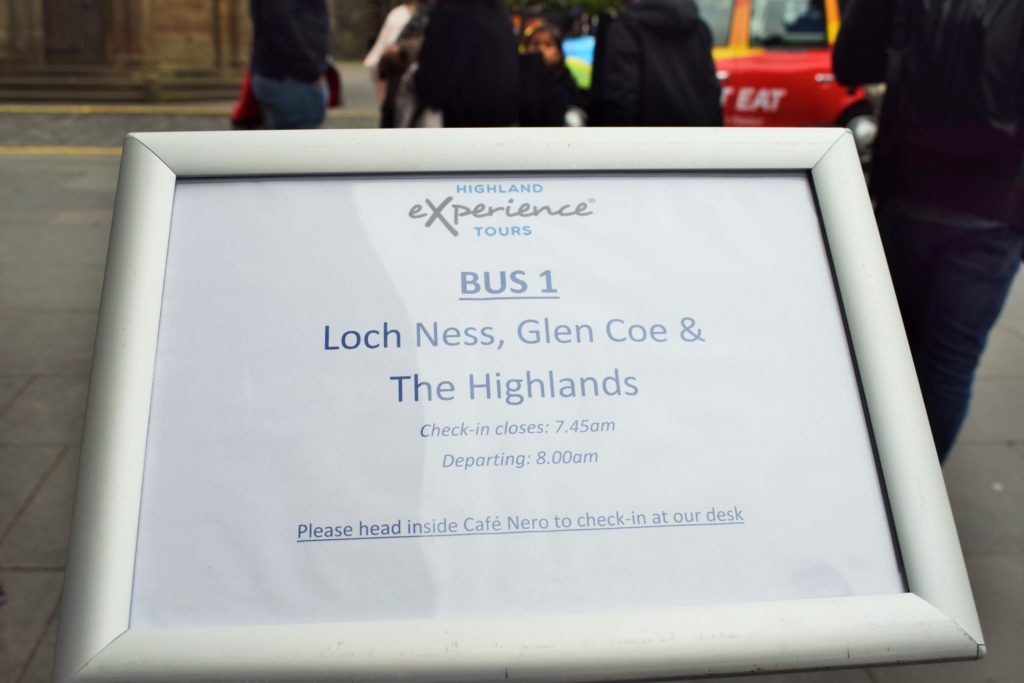 Highland Experience one day package tour
