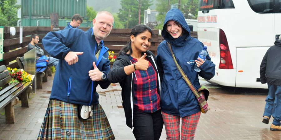 Tour guides for Highlands of Scotland