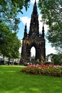 Scott Monument: Worlds largest monument to a writer