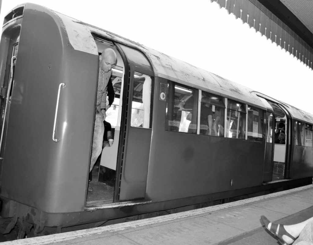 The train line of Isle of Wight