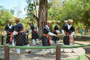 Kodava dance form potrayed