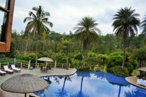 View from GARNARY restaurant of Resort