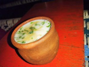 Chaas in Matka