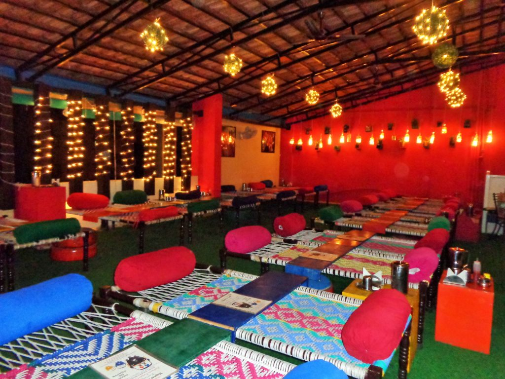 Interior of Kapoor cafe