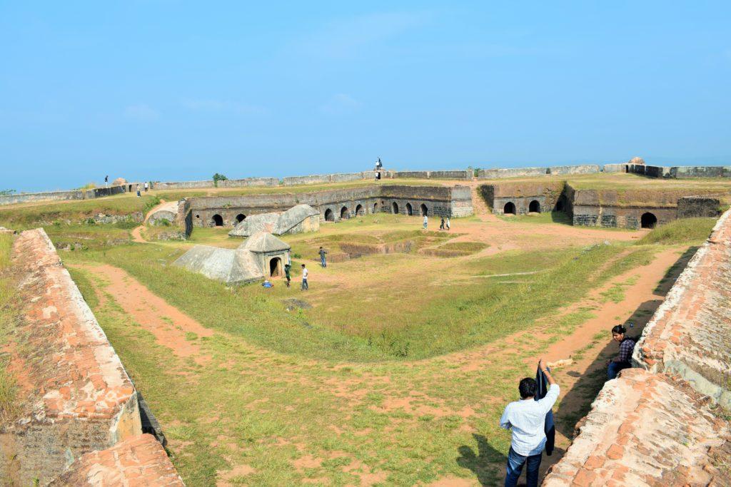 Top view of Manjarabad fort