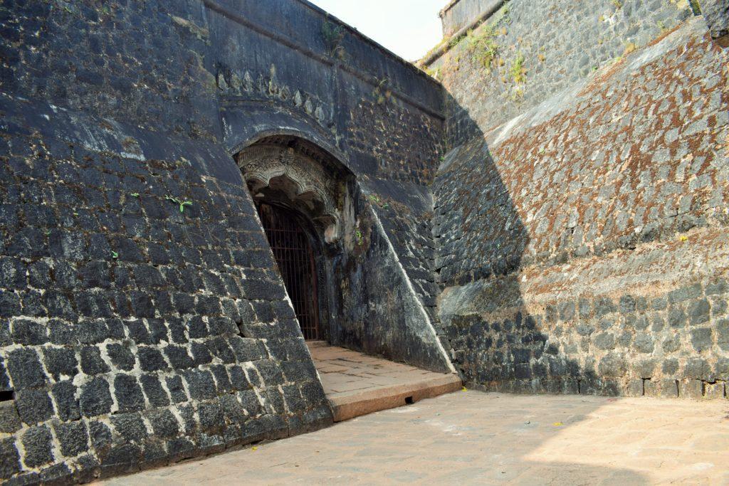 View of Entrance of Manjarabad fort