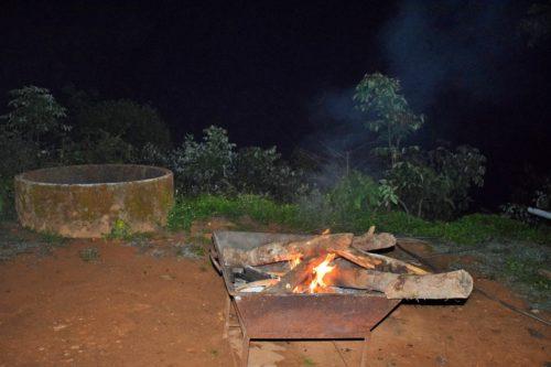 Campfire setup