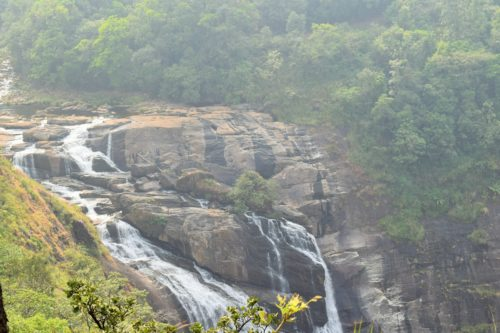 The Mallahalli waterfalls